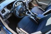 Фото 4 - Чехлы MW Brothers Volkswagen Golf VII Variant (2013-2020), бежевые вставки + бежевая нить
