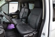 Фото 2 - Чехлы MW Brothers Ford Transit Custom (2012-н.д.), серая нить