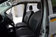 Фото 3 - Чехлы MW Brothers Renault Logan II (2012-2014), серая нить