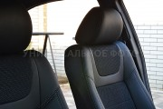 Фото 4 - Чехлы MW Brothers Ford C-Max II (2010-н.д.), серая нить