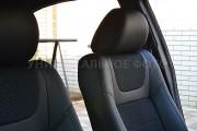 Фото 4 - Чехлы MW Brothers Alfa Romeo Mito (2008-н.д.), серая нить