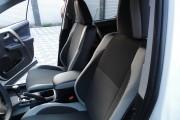 Фото 3 - Чехлы MW Brothers Toyota RAV4 IV (гибрид) (2016-2018), светлые вставки