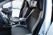 Фото 7 - Чехлы MW Brothers Toyota RAV4 IV (гибрид) (2016-2018), светлые вставки