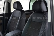 Фото 3 - Чехлы MW Brothers Ford Tourneo Custom (2012-н.д.), серая нить