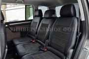 Фото 4 - Чехлы MW Brothers Ford Tourneo Custom (2012-н.д.), серая нить