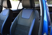 Фото 4 - Чехлы MW Brothers Skoda Octavia A7 FL (Active, Ambition, Style) (2017-н.д.), синие вставки