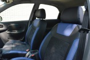 Фото 2 - Чехлы MW Brothers Chevrolet Lanos (2005-н.д.), синие вставки