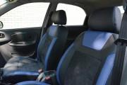 Фото 2 - Чехлы MW Brothers ZAZ Lanos T150 sedan (2004-н.д.), синие вставки