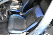 Фото 3 - Чехлы MW Brothers ZAZ Lanos T150 sedan (2004-н.д.), синие вставки