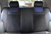Фото 6 - Чехлы MW Brothers ZAZ Lanos T150 sedan (2004-н.д.), синие вставки