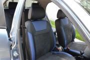 Фото 8 - Чехлы MW Brothers ZAZ Lanos T150 sedan (2004-н.д.), синие вставки