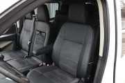 Фото 2 - Чехлы MW Brothers Ford Transit Custom (2012-н.д.) (груз-пассажир 6-мест), серая нить
