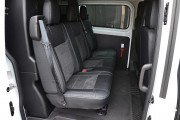 Фото 4 - Чехлы MW Brothers Ford Transit Custom (2012-н.д.) (груз-пассажир 6-мест), серая нить