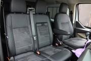 Фото 8 - Чехлы MW Brothers Ford Transit Custom (2012-н.д.) (груз-пассажир 6-мест), серая нить