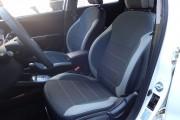 Фото 4 - Чехлы MW Brothers Hyundai Accent IV (solaris) hatchback (2011-2017), светлые вставки