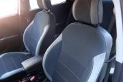 Фото 5 - Чехлы MW Brothers Hyundai Accent IV (solaris) hatchback (2011-2017), светлые вставки