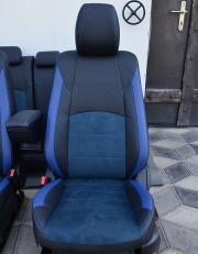 MW Brothers Mazda CX-3 (2015-н.д.), синяя алькантара + синие вставки