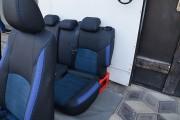 Фото 7 - Чехлы MW Brothers Mazda CX-3 (2015-н.д.), синяя алькантара + синие вставки