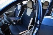 Фото 2 - Чехлы MW Brothers Volkswagen Golf VII Hatchback (2013-2020), светло-бежевые вставки