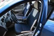 Фото 3 - Чехлы MW Brothers Volkswagen Golf VII Hatchback (2013-2020), светло-бежевые вставки