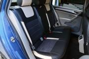 Фото 5 - Чехлы MW Brothers Volkswagen Golf VII Hatchback (2013-2020), светло-бежевые вставки