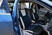 Фото 7 - Чехлы MW Brothers Volkswagen Golf VII Hatchback (2013-2020), светло-бежевые вставки