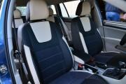 Фото 8 - Чехлы MW Brothers Volkswagen Golf VII Hatchback (2013-2020), светло-бежевые вставки