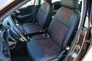 Фото 2 - Чехлы MW Brothers Volkswagen Polo Sedan (2009-н.д.), коричневая алькантара