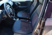 Фото 3 - Чехлы MW Brothers Volkswagen Polo Sedan (2009-н.д.), коричневая алькантара