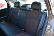 Фото 4 - Чехлы MW Brothers Volkswagen Polo Sedan (2009-н.д.), коричневая алькантара