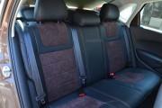 Фото 5 - Чехлы MW Brothers Volkswagen Polo Sedan (2009-н.д.), коричневая алькантара