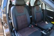 Фото 7 - Чехлы MW Brothers Volkswagen Polo Sedan (2009-н.д.), коричневая алькантара