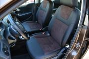 Фото 2 - Чехлы MW Brothers Volkswagen Polo V Hatchback (2009-н.д.), коричневая алькантара
