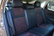 Фото 5 - Чехлы MW Brothers Volkswagen Polo V Hatchback (2009-н.д.), коричневая алькантара