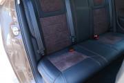 Фото 6 - Чехлы MW Brothers Volkswagen Polo V Hatchback (2009-н.д.), коричневая алькантара