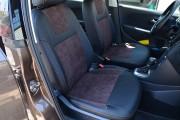 Фото 8 - Чехлы MW Brothers Volkswagen Polo V Hatchback (2009-н.д.), коричневая алькантара