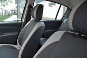 Фото 7 - Чехлы MW Brothers Renault Sandero I (2008-2012), светлые вставки + красная нить