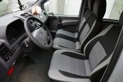 Фото 4 - Чехлы MW Brothers Mercedes-Benz Vito W638 (1+2) грузовой (1996-2003), светлые вставки