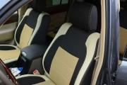 Фото 4 - Чехлы MW Brothers Lexus GX 470 (2003-2009), бежевые вставки