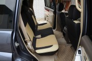 Фото 5 - Чехлы MW Brothers Lexus GX 470 (2003-2009), бежевые вставки
