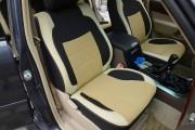 Фото 7 - Чехлы MW Brothers Lexus GX 470 (2003-2009), бежевые вставки