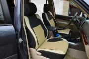 Фото 8 - Чехлы MW Brothers Lexus GX 470 (2003-2009), бежевые вставки
