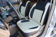 Фото 2 - Чехлы MW Brothers Chevrolet Aveo T200 sedan (2002-2008), бежевые вставки