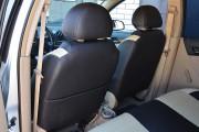 Фото 3 - Чехлы MW Brothers Chevrolet Aveo T200 sedan (2002-2008), бежевые вставки