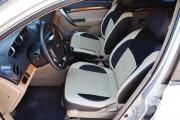Фото 4 - Чехлы MW Brothers Chevrolet Aveo T200 sedan (2002-2008), бежевые вставки