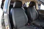 Фото 6 - Чехлы MW Brothers Seat Toledo Mk4 (2013-н.д), серая нить