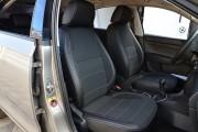 Фото 7 - Чехлы MW Brothers Seat Toledo Mk4 (2013-н.д), серая нить