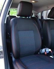 MW Brothers Ford Fiesta Mk7 (2009-2018), темные + красная нить