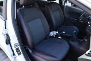 Фото 8 - Чехлы MW Brothers Ford Fiesta Mk7 (2009-2018), темные + красная нить