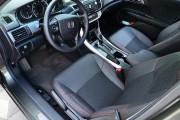 Фото 7 - Чехлы MW Brothers Honda Accord 9 (2013-н.д), красная нить